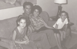 My family, not long after arriving here from Cuba.