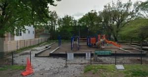 Harsh Park, where Hadiya Pendleton was murdered. (Google Maps image)