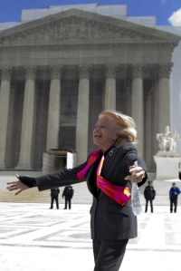 Edie Windsor, the plaintiff in the DOMA case before the Supreme Court.