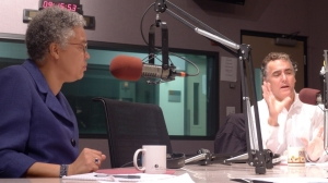 Cook County Board President Toni Preckwinkle and Cook County Sheriff Tom Dart.